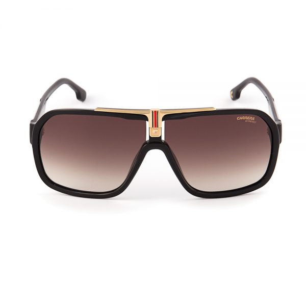 Carrera 1014 Gloss Black Gold Brown Gradient (1014-807)