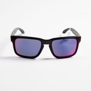Oakley Holbrook Matte Black Red Iridium (9102-36)