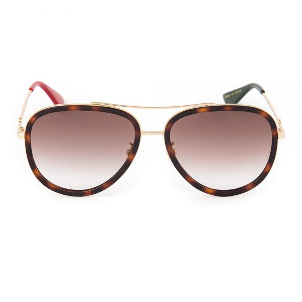 Gucci 062 Havana Gold Brown Gradient (062-012)