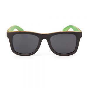 Gold Coast Longboards Straddie Polarised Black Green Grey (101)