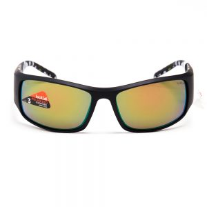 Bolle King Polarised Matte Black Grey with Bronze Green Mirror (11786)