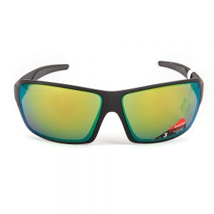 Bolle Cary Polarised Matte Black Bronze Emerald Mirror (12221)