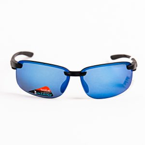 Bolle Flyair Polarised Matte Black Offshore Blue (12261)