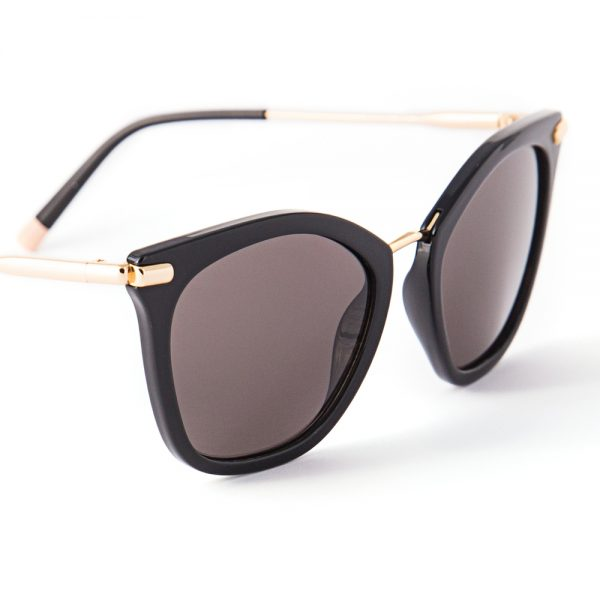 Calvin Klein 1231 Gloss Black Gold Grey (1231-001)
