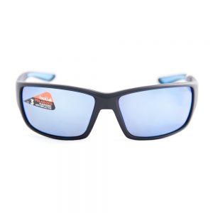 Bolle Kayman Polarised Matte Black Blue Offshore Mirror (12368)