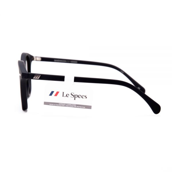 Le Specs Bandwagon Black Rubber with Grey (1502053)