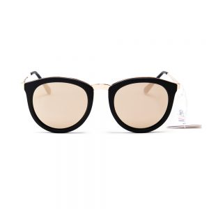Le Specs No Smirking Black Rubber Gold (1602145)