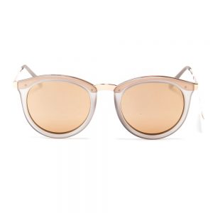 Le Specs No Smirking Polarised Matte Ice Gold (1702031)