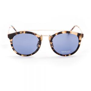 Calvin Klein 18720 Khaki Tortoiseshell Gold Blue (18720 244)
