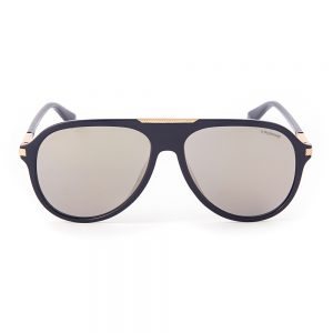 Polaroid 2071 Polarised Gloss Navy Gold Mirror (2071-PJP)
