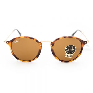 Ray Ban 2447 Round Fleck Spotted Brown Havana Crystal Brown (2447 1160)