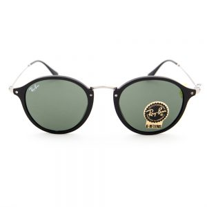 Ray Ban 2447 Round Fleck Black Crystal Green (RB2447 901)