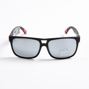 Dragon Roadblock Polarised Matte Black H20 Silver (29395-049)