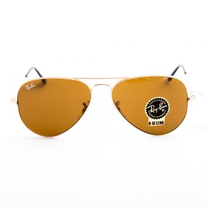 Ray Ban 3025 Aviator Gold Brown Glass (3025-00133)