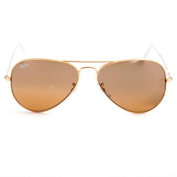 Ray Ban 3025 Aviator Gold Brown Mirror (3025-0013k)