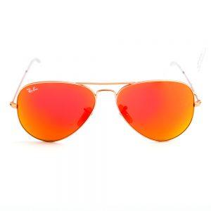 Ray Ban 3025 Aviator Gold Mirror Orange Glass (3025 112/69)
