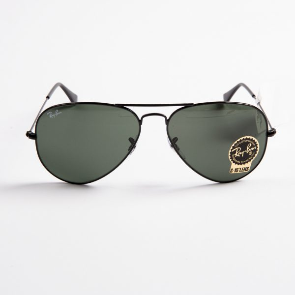 Ray Ban 3025 Aviator Black Green Glass (3025 L2823)