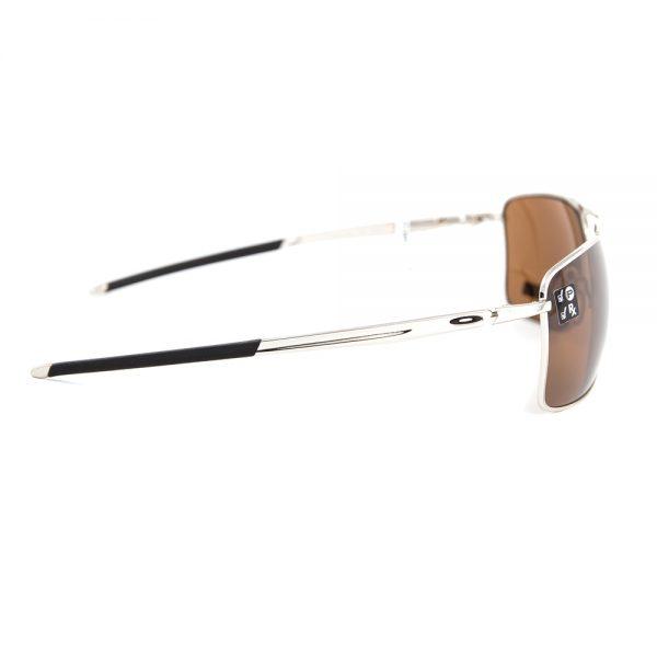 Oakley Gauge 8 Polarised Polished Chrome Prizm Tungsten (62 eye size) (4124-0962)