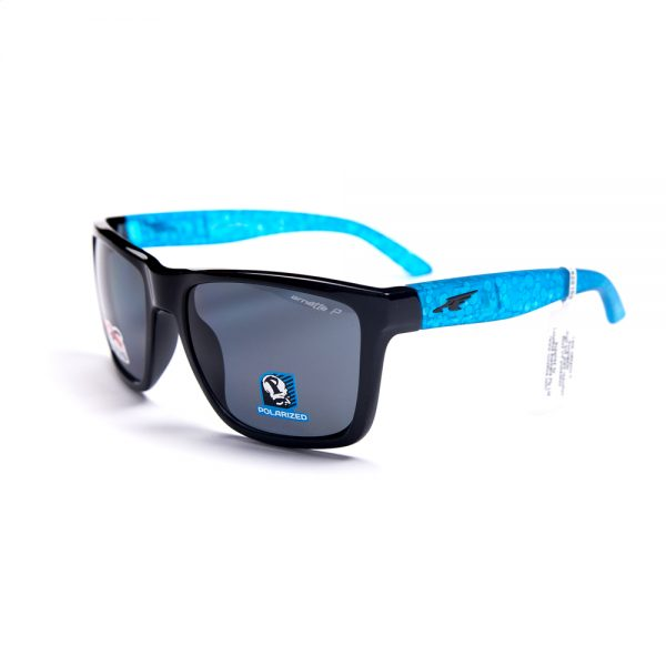 Arnette Witch Doctor Polarised Gloss Black Blue Grey (4177-216281)