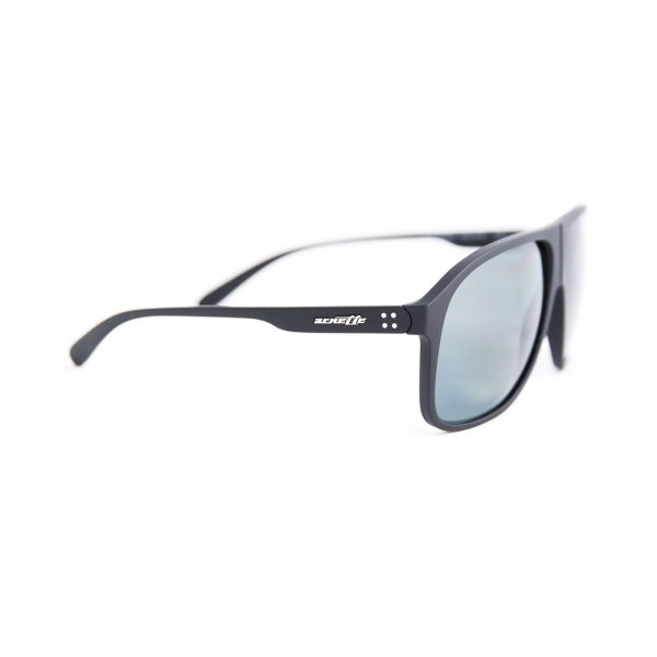 Arnette 50-50 Polarised Black Rubber Grey (4243 447/81)