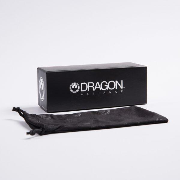 Dragon The Jam Polarised Matte Black H20 Green (720-2196)