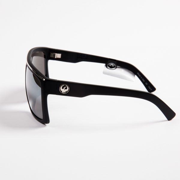 Dragon Fame Matte Black with Silver Ionised lens (720-2322)
