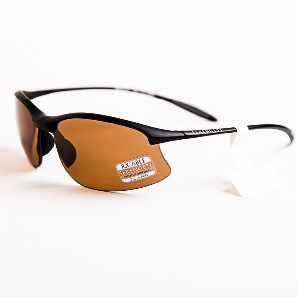 Serengeti Maestrale Polarised Satin Black Photochromic Drivers (7356)