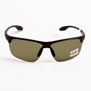 Serengeti Linosa Polarised Satin Black 555 Grey Green Photochromatic (8506)