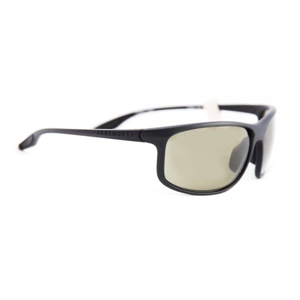 Serengeti Ponza Polarised Black Satin Grey Green PHD 555 (8616)
