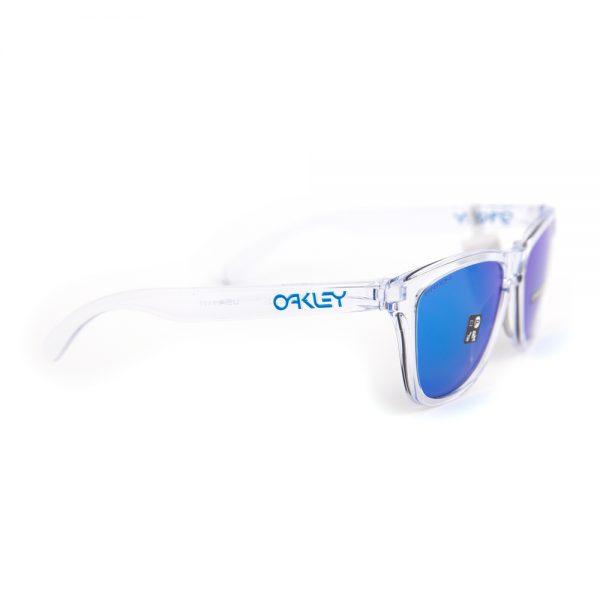 Oakley Frogskins Crystal Clear Prizm Sapphire Iridium (9013-D0)