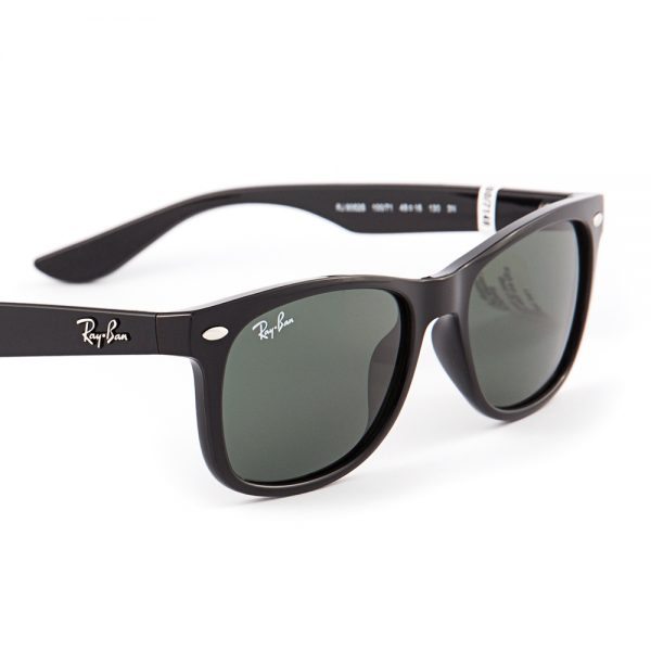 Ray Ban 9052 New Wayfarer Junior Gloss Black Green (9052 100/71)