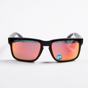 Oakley Holbrook Polarised Matte Black Ruby Iridium (9102-51)