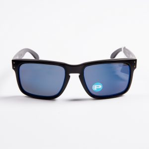 Oakley Holbrook Polarised Matte Black Ice Iridium Sunglasses (9102-52)