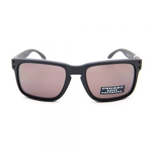 Oakley Holbrook Polarised Matte Steel Prizm Daily (9102-B5)