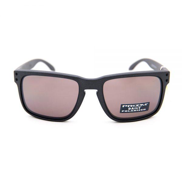 Oakley Holbrook Polarised Matte Steel Prizm Daily (9102-B5)