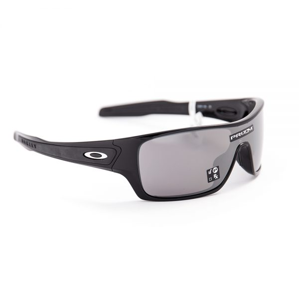 Oakley Turbine Rotor Polarised Polished Black Prizm Black (9307-15)
