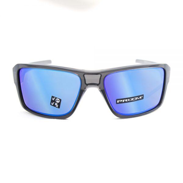 Oakley Double Edge Polarised Grey Smoke Prizm Sapphire (9380-06)
