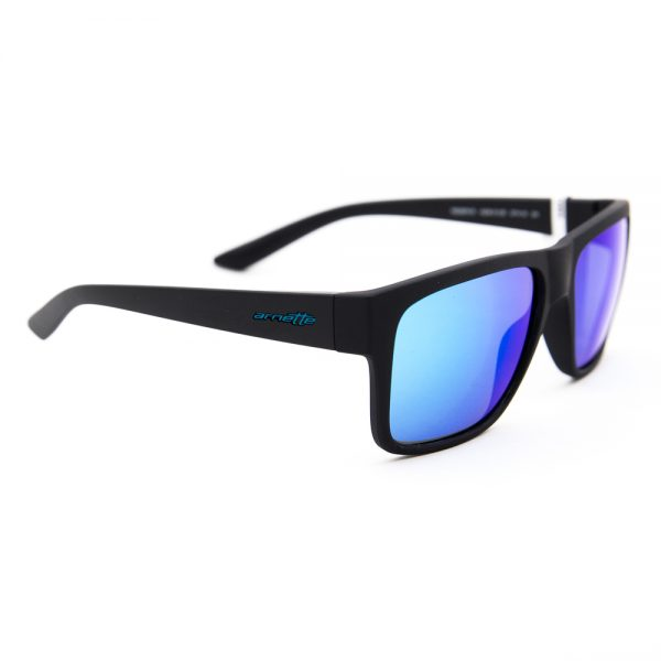Arnette Reserve Matte Black Blue Mirror (AN4226 01/25)