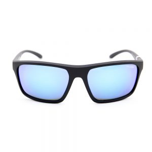 Arnette Sandbank Matte Black Blue Mirror (AN4229 01/25)