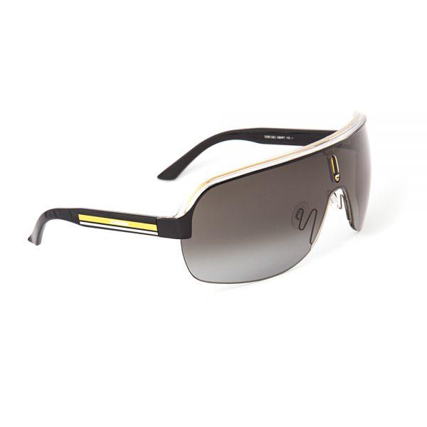 Carrera TopCar 1 Black Crystal Yellow Grey Gradient (KBN99PT)