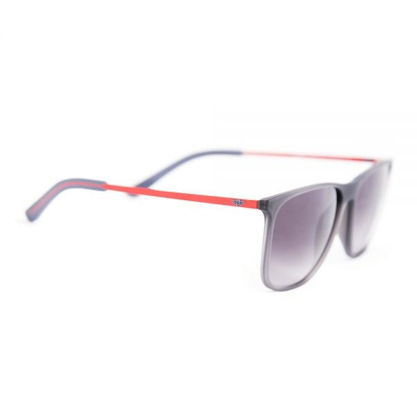 Police Edge 5 Matte Grey Rubber Red Grey Gradient (PL567 49FF)