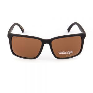 Von Zipper Lesmore Polarised Black Rubber Brown (SMPLES-PSZ)