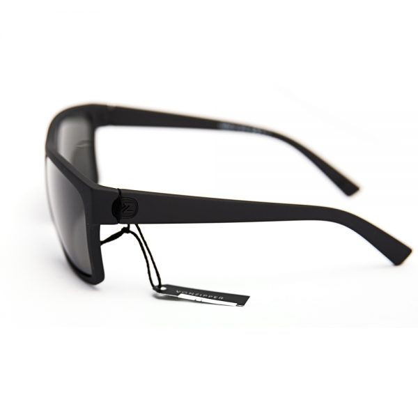 Von Zipper Dipstick Black Satin Grey (SMSDIP-BKS)