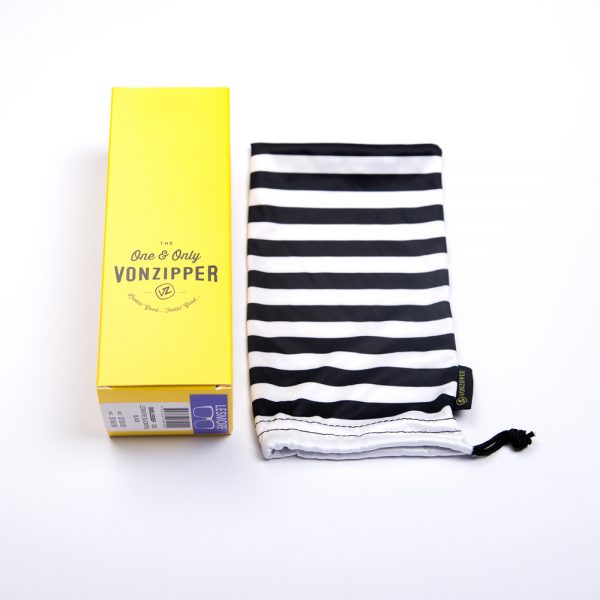 Von Zipper Maxis Polarised Black Satin Grey Wildlife (SMSMAX-PSV)