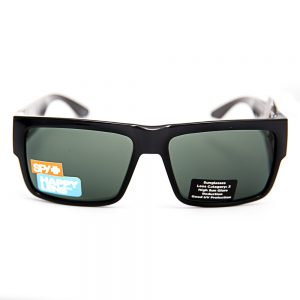 Spy Cyrus Gloss Black Happy Grey Green Lens (SPCYBS09)