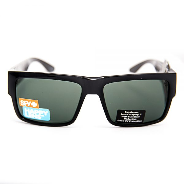 Spy Cyrus Gloss Black Happy Grey Green Lens (SPCYBS09)
