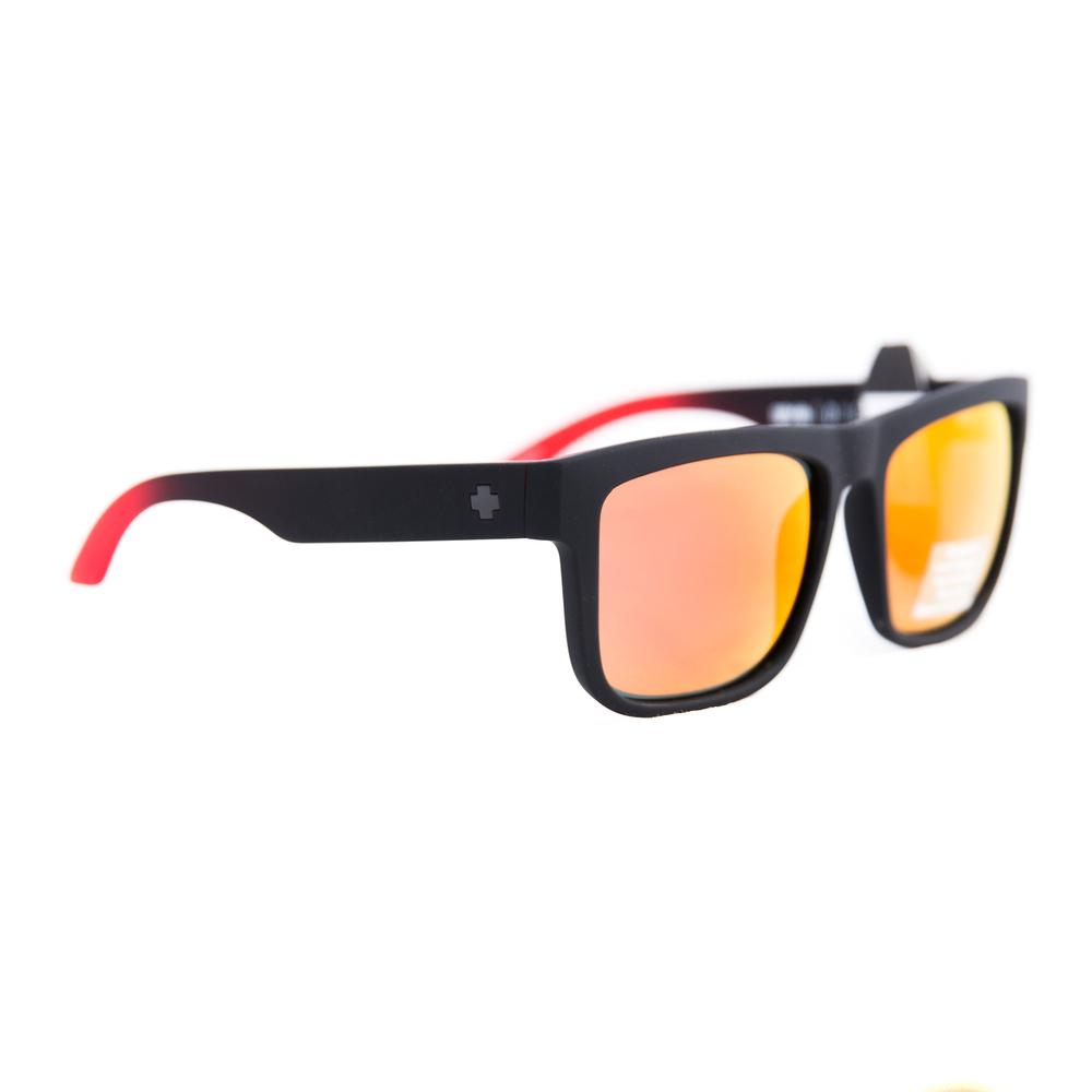Spy FLYNN Matte Black w// Happy Green Spectra Sunglasses Free Express Post