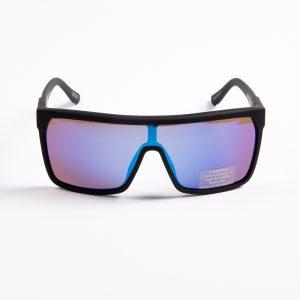 Spy Flynn Soft Matte Black Happy Blue Spectra (SPFYBTK89)