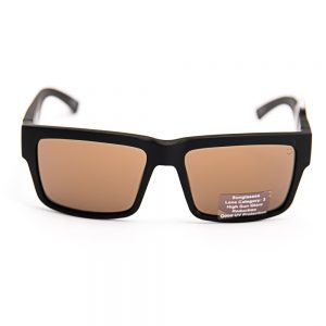 Spy Montana Matte Black Bronze Gold Mirror (SPMNBT0G)