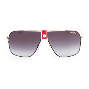 Carrera 1018 Gloss Black Gold Red Grey Gradient (1018 Y11)